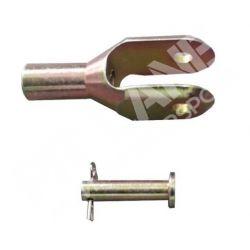 LANCIA DELTA INTEGRALE 16v - LANCIA DELTA EVOLUZIONE - LANCIA 4WD Fixing pedal kit for brake/clutch (M8x1,25)