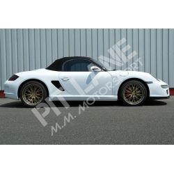 Porsche BOXSTER 987 Coppia minigonne laterali in vetroresina