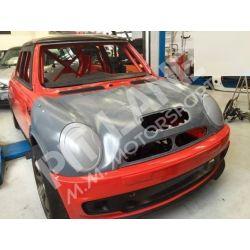 Mini Cooper S53 Cofano anteriore in vetroresina