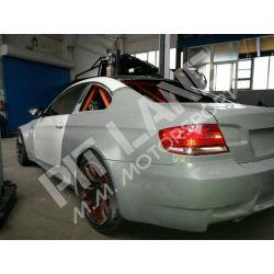 BMW M3 E92 Pair of rear wings in fiberglass
