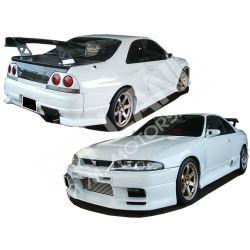 Nissan Skyline GTR R33 - Drift Body KIT CARROZZERIA in vetroresina