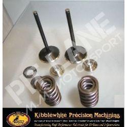 HONDA CRF450X (2005-2012) Kibblewhite kit molle valvola di ingresso per ricostruzione in acciaio inossidabile
