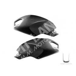 Coppia cover laterali serbatoio Ducati in carbonio