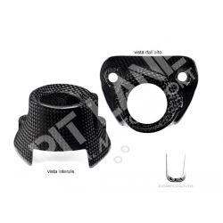 Cover copriblocco chiave Ducati in carbonio