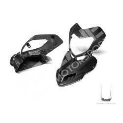 Maschera frontale Ducati in carbonio