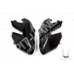 Coppia fianchi anteriori esterni Ducati in carbonio