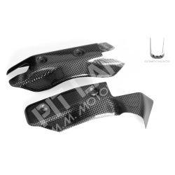 Coppia protezione radiatore Ducati in carbonio